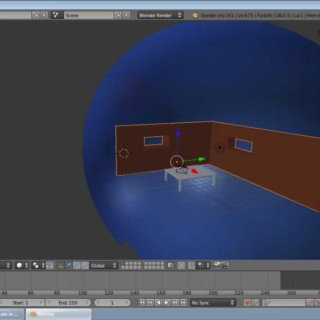 Blender Beginner Tutorial Series: no. 2- making a room