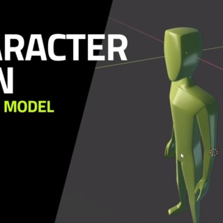 Blender Tutorial – How to model a Man Character