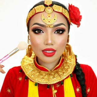 Speaking in my Native Language (NEPALI MAKEUP TUTORIAL)