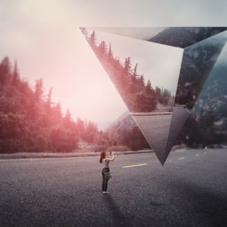 Surreal Landscape Geometric Photo Manipulation Photoshop Tutorial