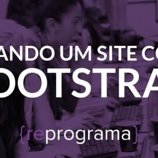 Criando um site com Bootstrap {reprograma}