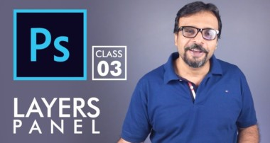 Layers Panel – Adobe Photoshop for Beginners – Class 3 – Urdu / Hindi