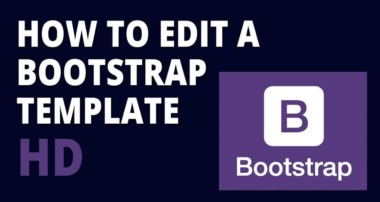 Bootstrap HD – How to edit a bootstrap template HD