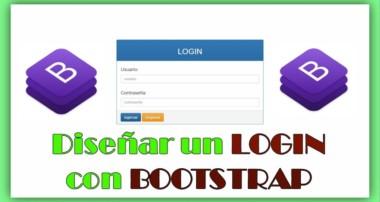 Diseño de un Login Con Bootstrap 3 | HTML + PHP + CSS | Fácil y Práctico |
