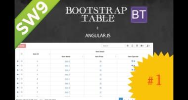 GRID – BootStrap Table com Angular JS – Parte 1