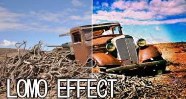 Photoshop CS6 Retro Lomo Effect Tutorial