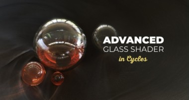 Advanced Glass Shader in Cycles – Blender 2.8 Tutorial