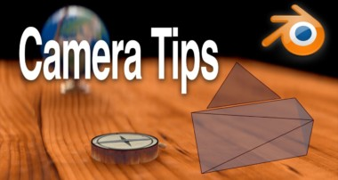 Blender Camera Tips: Pull focus and smooth camera motion