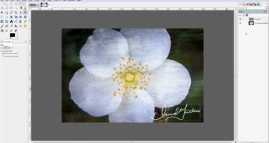 Signature on Photo Tutorial using GIMP