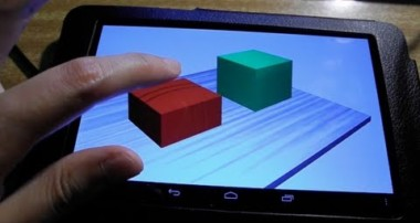 Blender 3D 2.6 & gamekit Android 3D Game Test on Nexus 7