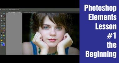 Learn Photoshop Elements – Lesson #1 (The beginning)
