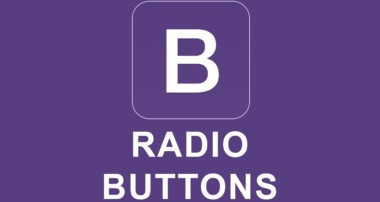 Bootstrap 4 Tutorial 15 – Radio Buttons