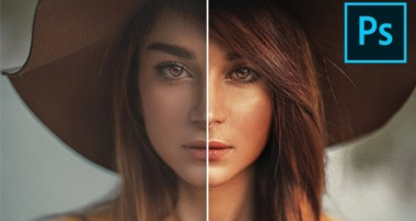 The Professional Golden Shine Effect in Photoshop