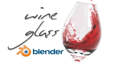 Create a Wine Glass – Blender Fluid Simulation Tutorial!