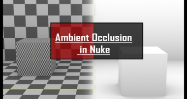 HOW TO RENDER AMBIENT OCCLUSION IN NUKE   RAY RENDER   TUTORIAL IN HINDI