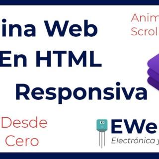 ▷ Como Hacer una Página Web en HTML Responsiva con Bootstrap y CSS | Animate On Scroll Library
