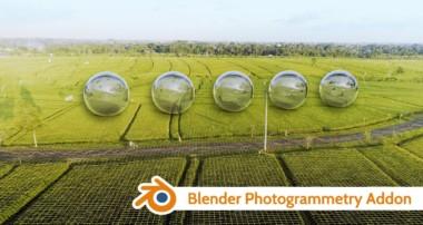 Blender Photogrammetry Addon v1.0