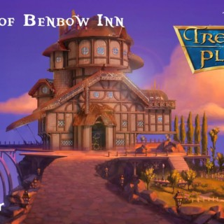 Creation of the Benbow Inn from Disney's Treasure Planet in Blender 2.8