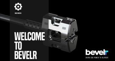 Bevelr: Bring CAD Power to Blender 3D