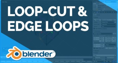 Loop-cut & Edge Loops – Blender Fundamentals
