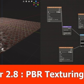 Blender 2.8 PBR Texturing for Beginners