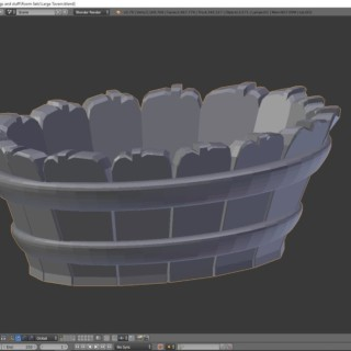 Blender 3D Modeling Tutorial Bathroom Washtub | Inn Pt. 11