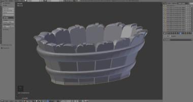Blender 3D Modeling Tutorial Bathroom Washtub | Inn Pt. 11