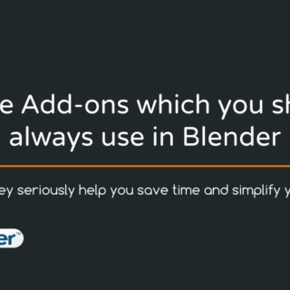 5 Free Addons that will simplify your work in Blender 3D!