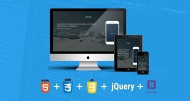 For Beginners – creating web page using html, css, javascript, jquery and bootstrap