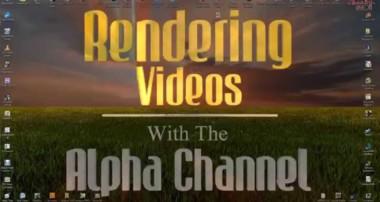 Blender – Rendering Videos With Alpha Transparency