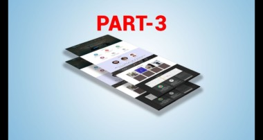PSD Template Design with Bootstrap Grid Layout One Page Template in Photoshop CC Part 3 Bangla
