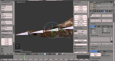 Blender 3D / rigging: How to adjust the roll of bones in a bones chain the proper way / HD