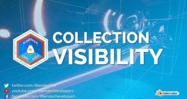 Collection Visibility – Blender 2.8 Code Quest