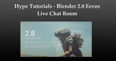 Blender 3D Live Chat Room – Blender 2.8 (3D) and Eevee (expected 2018!) #2