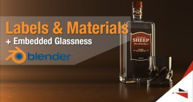 Blender Tutorial – Labels and Different Materials on one object