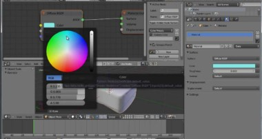 Blender 3D : How to model and texture a sponge / HD