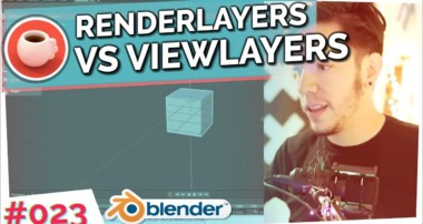 Render Layers vs View Layers – Blender Today Live #023