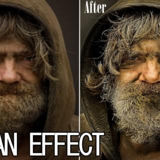 Photoshop CS6 Dragan Effect Tutorial