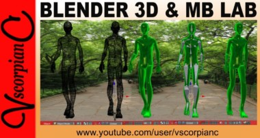 Blender 3D – ManuelBastioni Lab Character Add-0n v1.6 Animation Test by VscorpianC