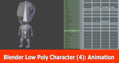 Blender Low Poly Character Creation : Animation