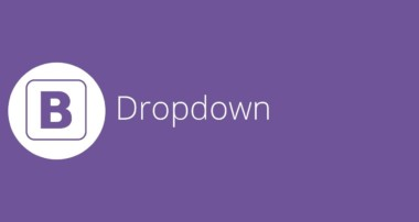 Bootstrap tutorial 16 – Dropdowns