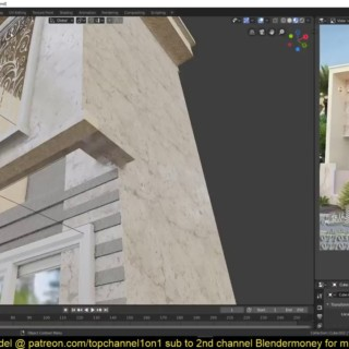 modeling an apartment building in blender 2 8  steb by step tutorial part 4