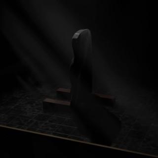 Blender 2.8 Eevee Animation Preview Printable 3D Model Grave No.3