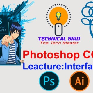 Adobe Photoshop CC 2019:  Interface Tutorial for Beginners – Lesson 1.Full bangla Tutorial