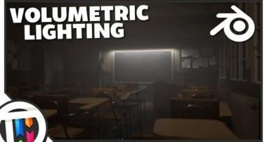 Blender Tutorial – How to Create Volumetric Lighting