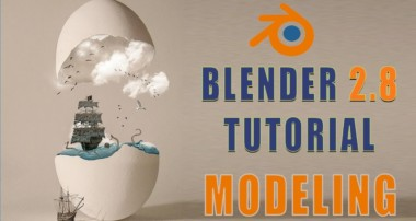 Blender 2.8 Low Poly 3D Modeling Tutorial | blender 2.8 game engine tutorial-8