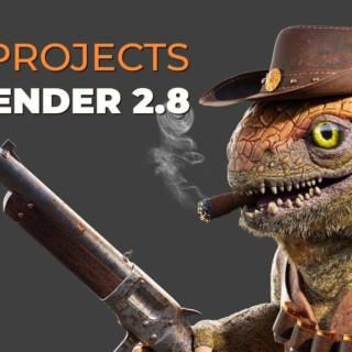 Old Blender 2.7x Projects in Blender 2.8?