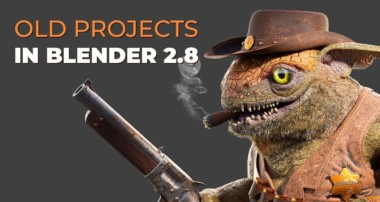 Old Blender 2.7x Projects in Blender 2.8?