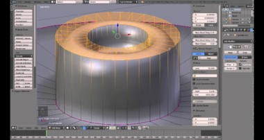 Blender 3D Basics tutorial – Mean Crease