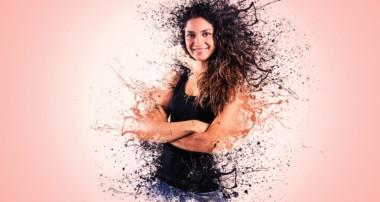 Photoshop Tutorials – Splatter / Dispersion Photo Manipulation